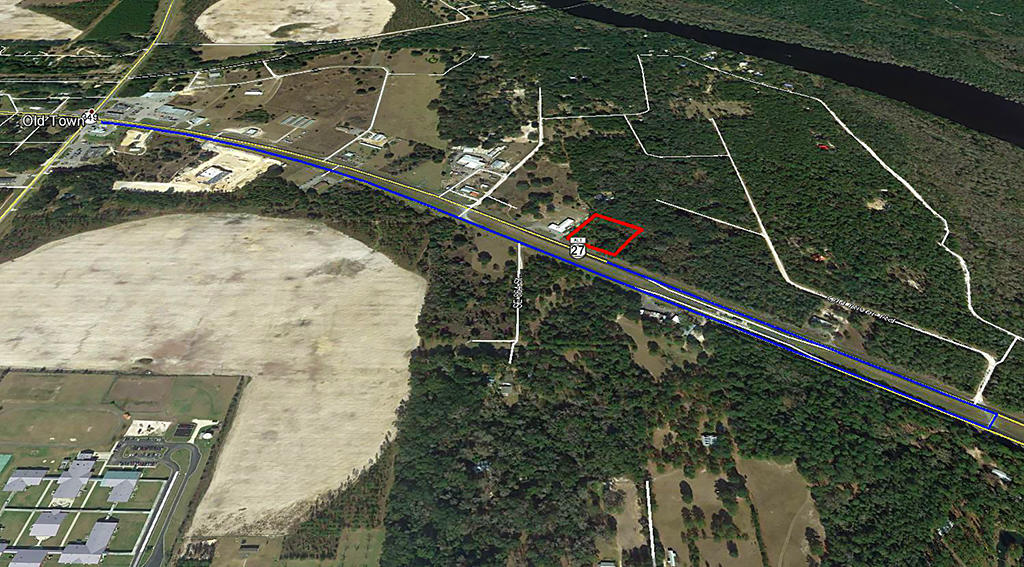 Two Acres in Community of Old Town Florida - Image 3