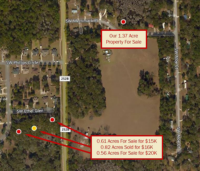 Lake City Florida Homesite on Flat Treed One Plus Acre - Image 2