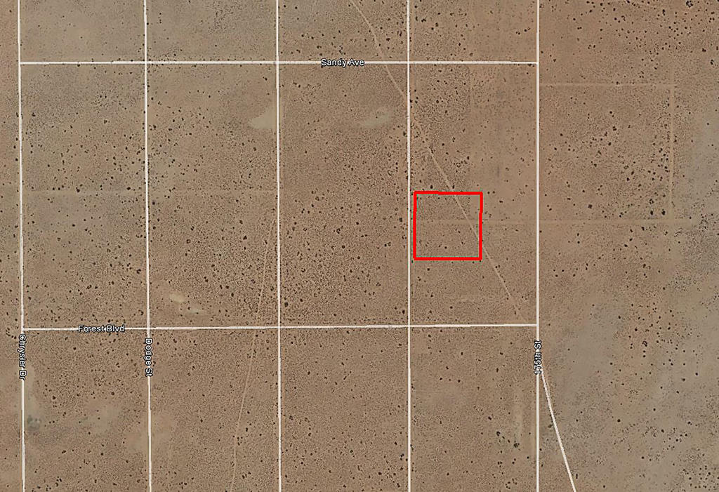 Acreage in Private Area Close to California City - Image 1
