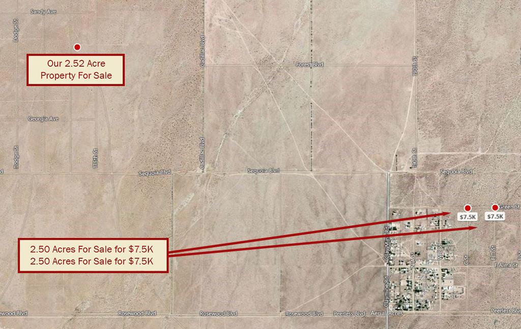 Acreage in Private Area Close to California City - Image 3