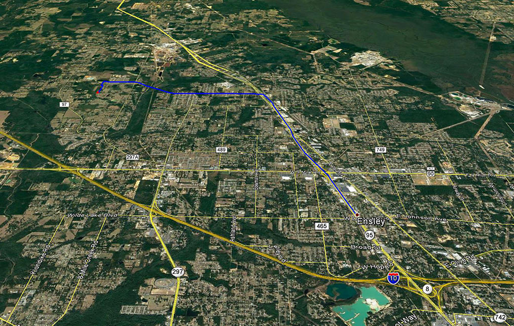 Half Acre with Tons of Potential Only Half Hour from Pensacola - Image 3