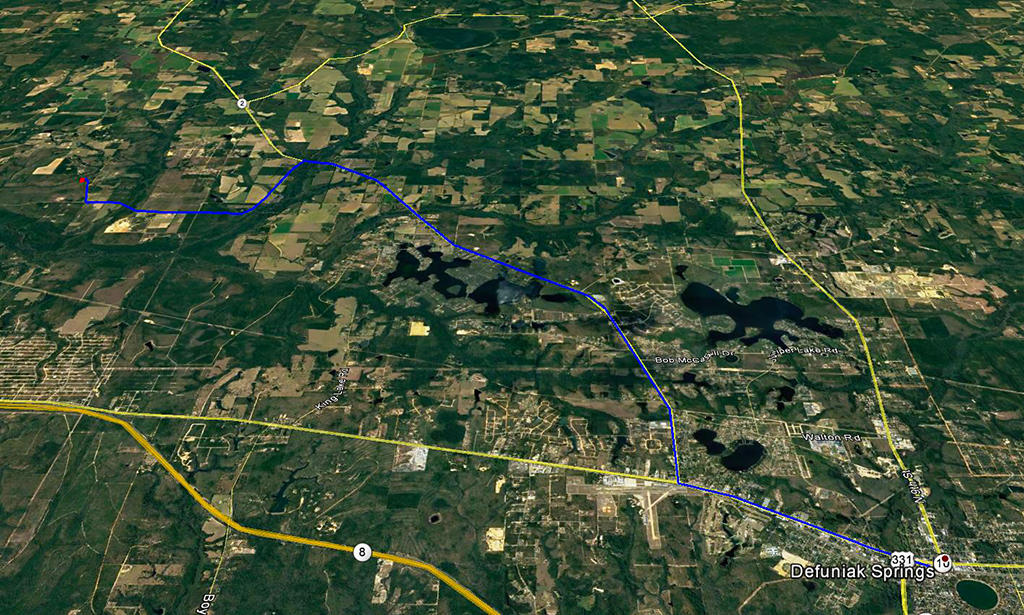 Small Rural Agricultural Lot on the Outskirts of Defuniak Springs - Image 3