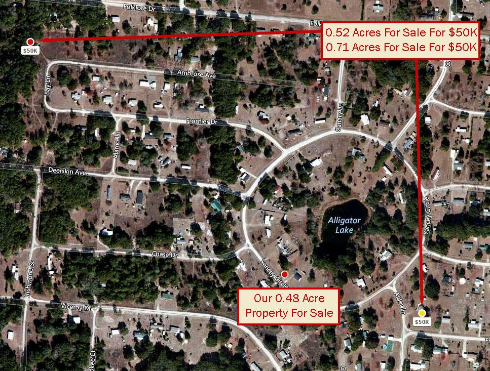 Half Acre Pacel in Satsuma Florida - Image 2