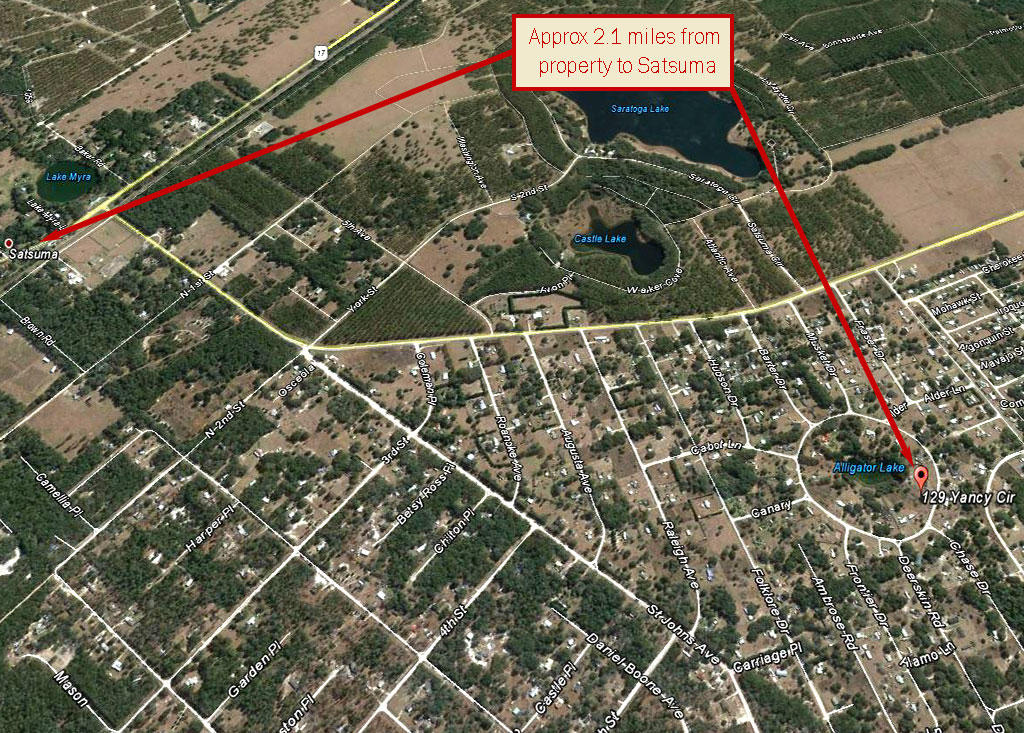 Half Acre Pacel in Satsuma Florida - Image 4