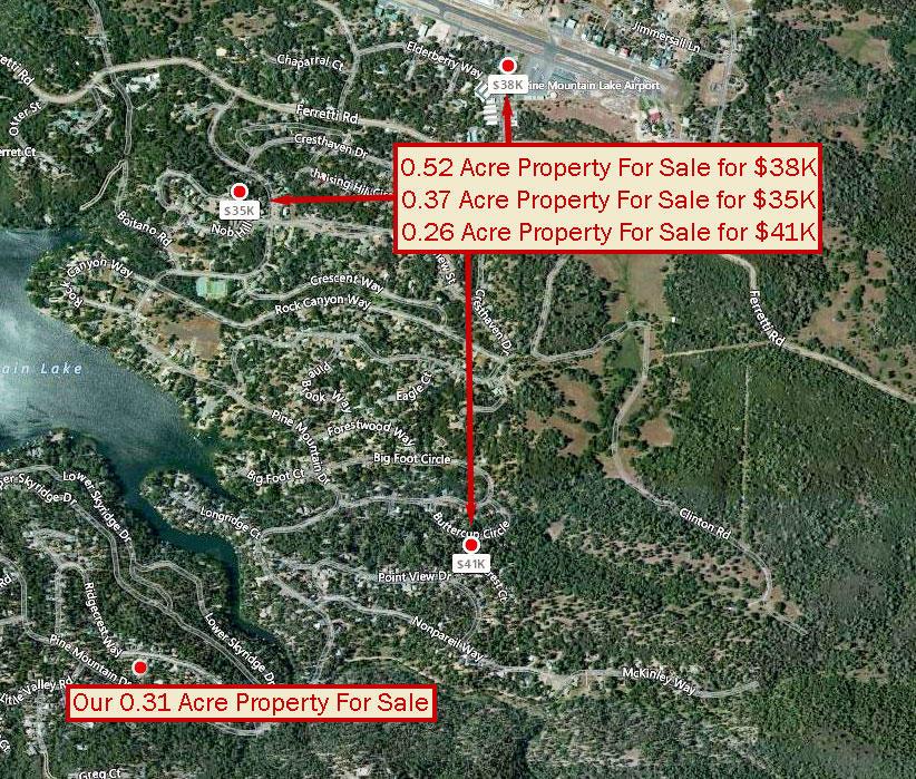 Hillside Residential Lot Near Pine Mountain Lake - Image 2