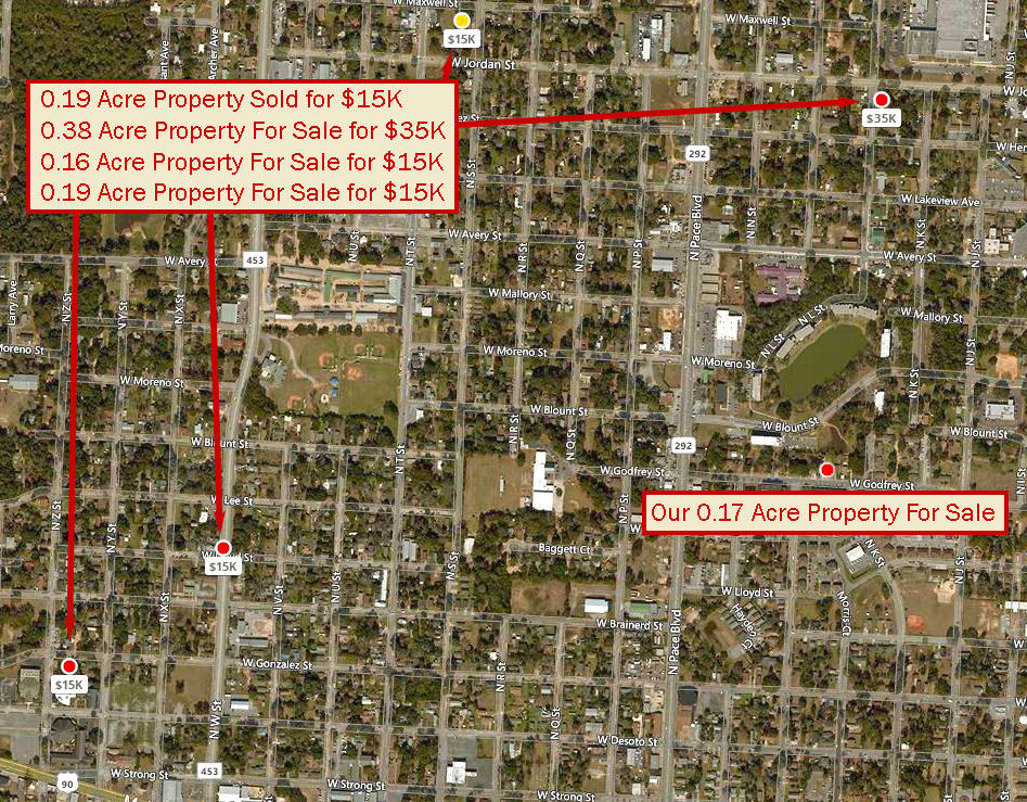 Small Residential Lot in Well Established Neighborhood in Pensaco - Image 5