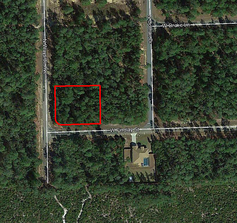 Corner Lot Over Half an Acre in Beautiful Citrus Springs - Image 1