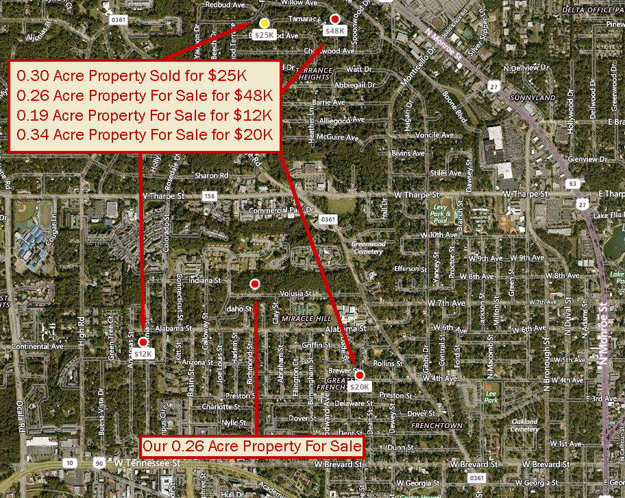 Partially Developed Lot in Tallahassee Suburb of Griffin Heights - Image 4