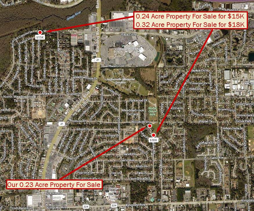 Residential Lot in Orange Park Florida - Image 2