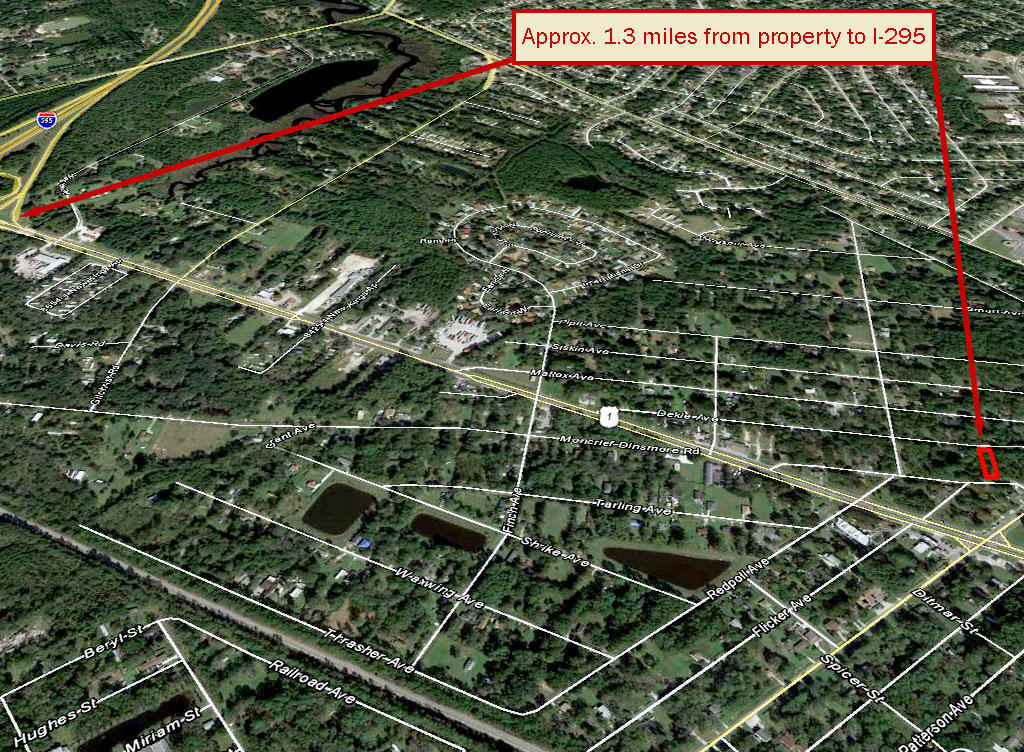 Quarter Acre Lot within City Limits of Jacksonville - Image 4