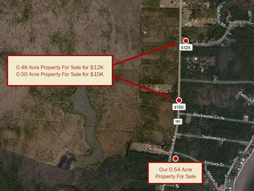 Half Acre Residential Lot in Milton Florida - Image 3