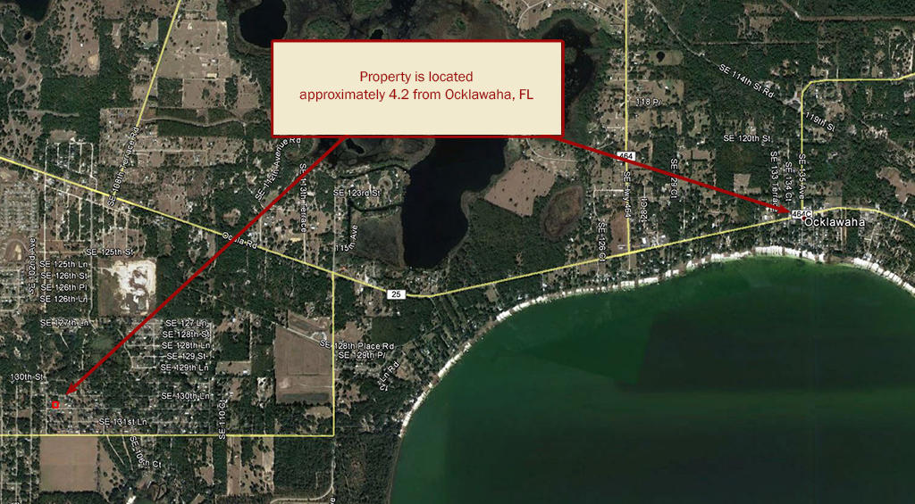 Over a quarter of an acre on SE 131st Place in Ocklawaha - Image 3