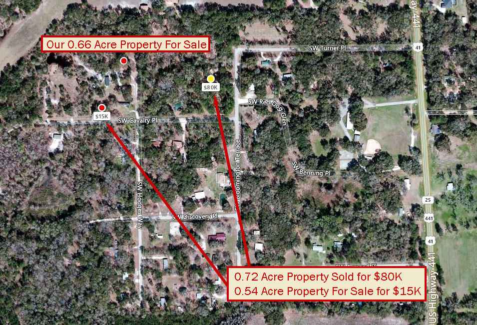 Over Half an Acre Mobile Home Friendly lot in Columbia County - Image 5
