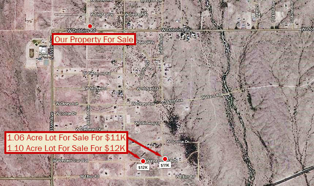 Explore this One Acre Find Between Buckeye and Tonopah - Image 5