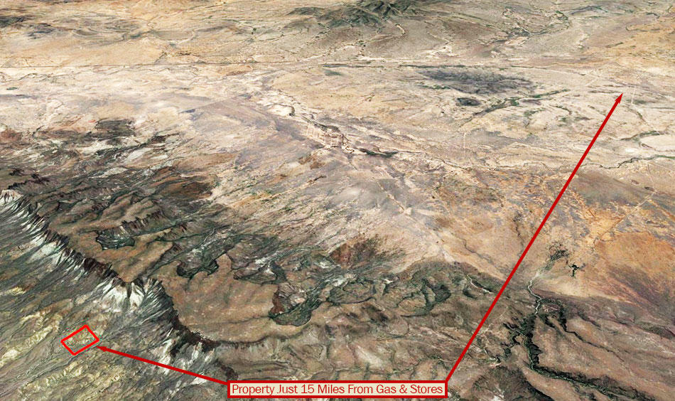 40 Acres of Land in the Hills 90 minutes from Valentine - Image 4