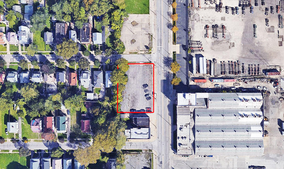 Fully Paved Commercial Cleveland Lot - Image 2