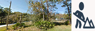 Almost One Quarter Acre Corner Lot in East Palatka
