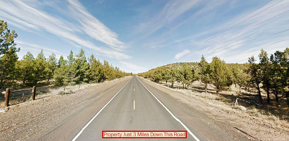 Five Acre Parcel About 17 Miles Southeast of Prineville - Image 3