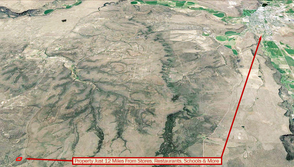 Five Acre Parcel About 17 Miles Southeast of Prineville - Image 4