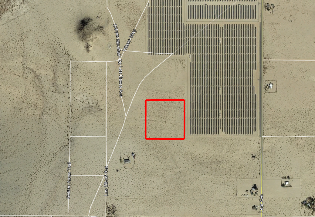 Unobstructed 10 Acres in California Desert - Image 1