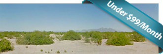 Flat Arizona lot close to many cities