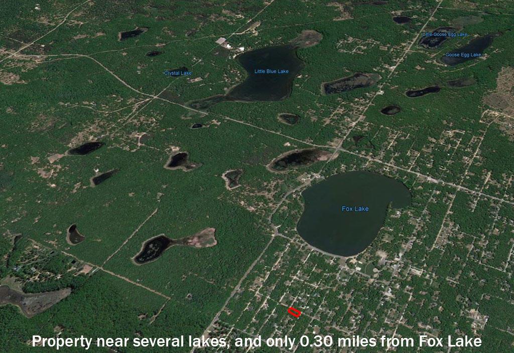Treed Half Acre Near Lake Michigan - Image 3
