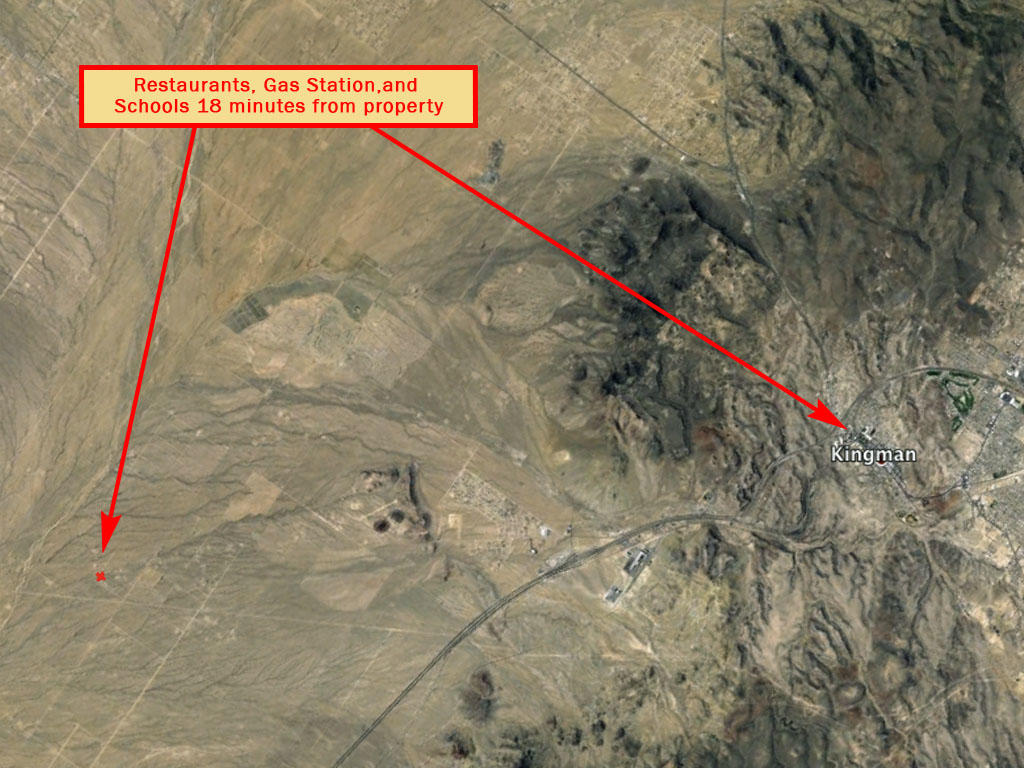 Two Acre Property About 13 Miles Southwest of Kingman - Image 3
