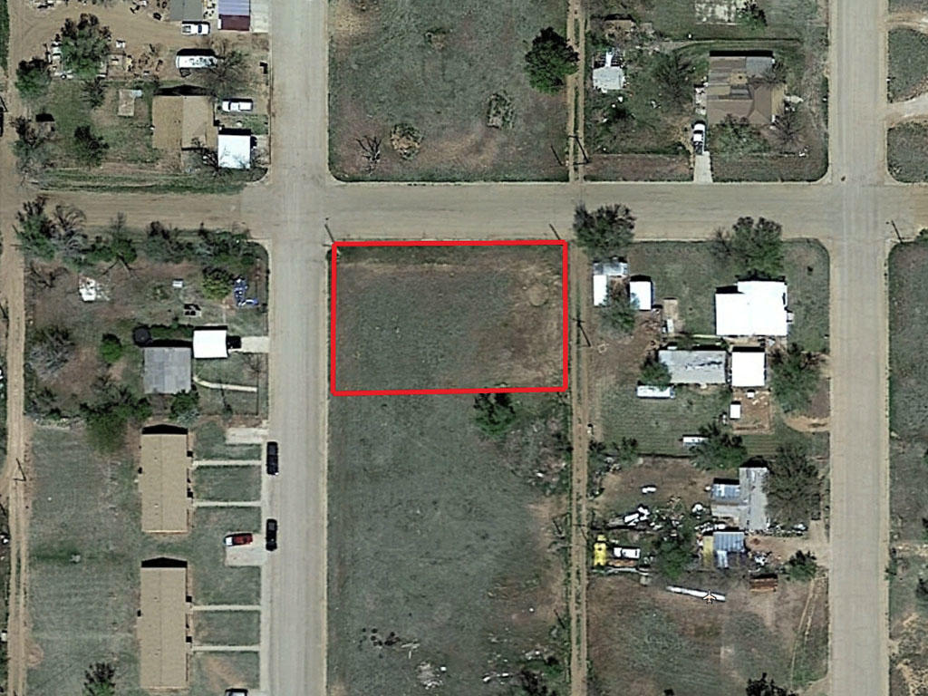 Nice Corner Texas Lot in Crosbyton - Image 1