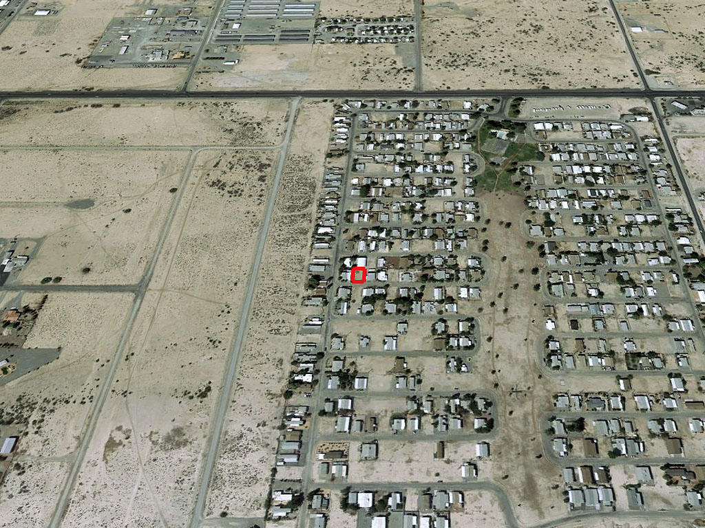 Mobile Home Lot Just Outside of Pahrump, NV - Image 2
