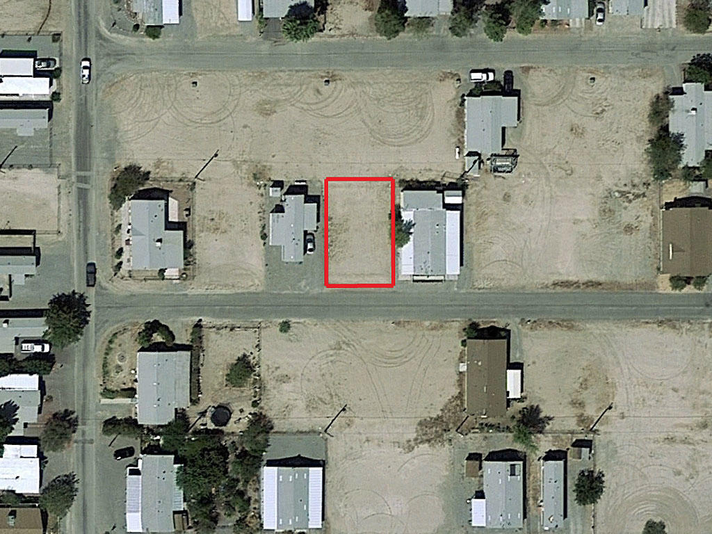 Mobile Home Ready Lot an Hour From Las Vegas, NV - Image 1