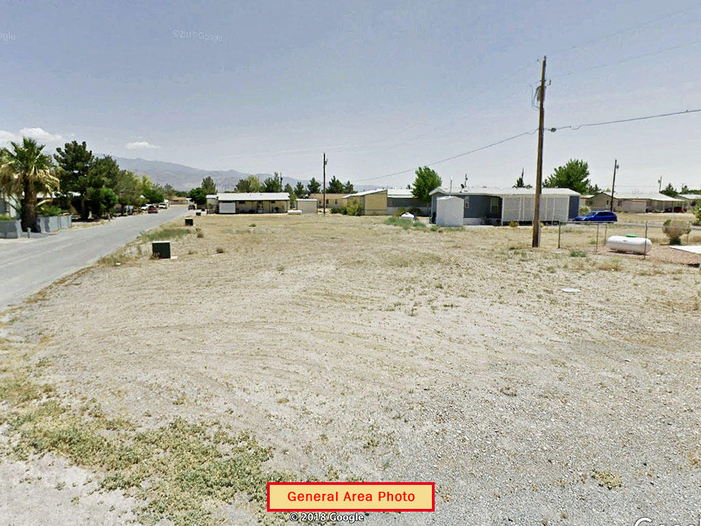 Mobile Home Ready Lot an Hour From Las Vegas, NV - Image 3