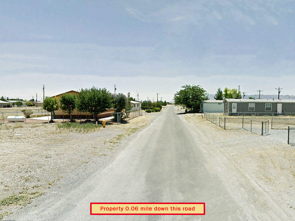 Mobile Home Ready Lot an Hour From Las Vegas, NV - Image 4