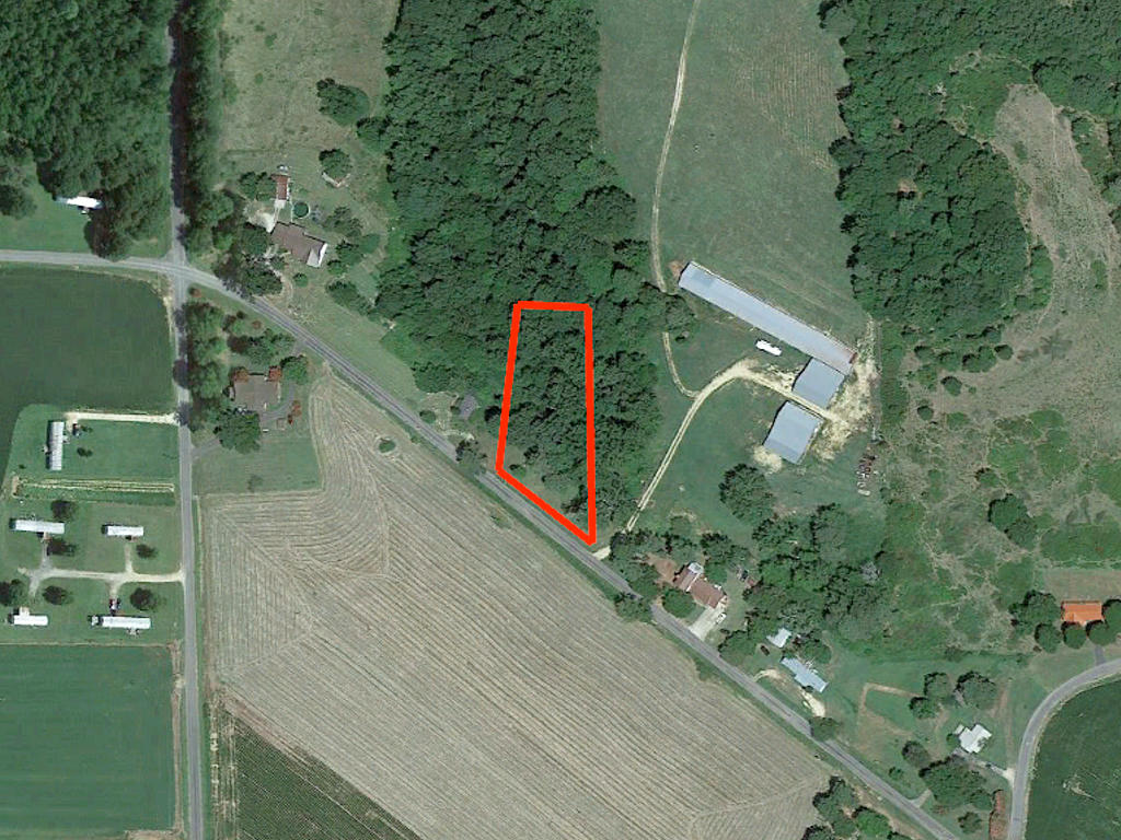 Great One Acre Property on Alabama Country Road - Image 1