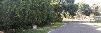 Quarter Acre Lot on Temple Drive