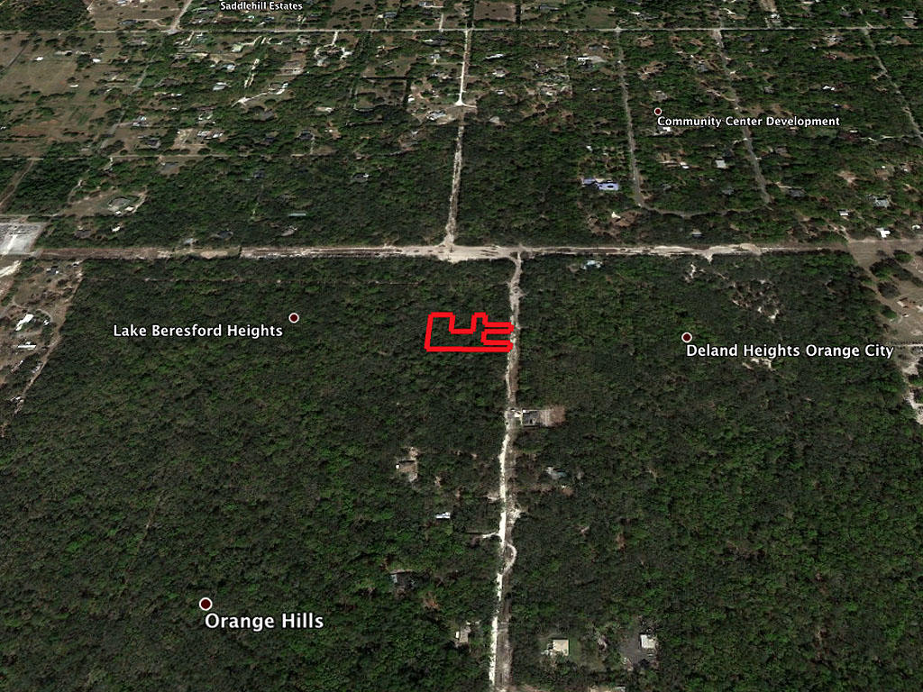 Rural 1+ Acre lot in Orange City - Image 2
