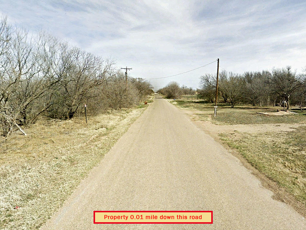 Quarter Acre City Lot in Haskell Texas - Image 5