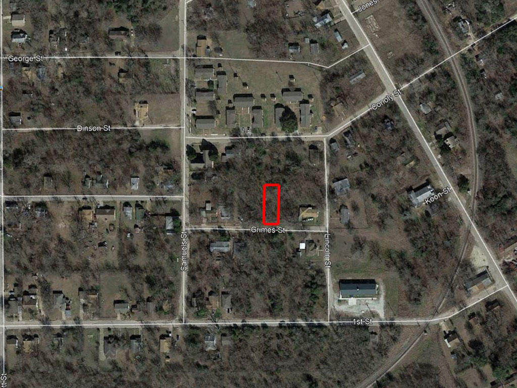 Treed City Lot in Eastern Texas - Image 2