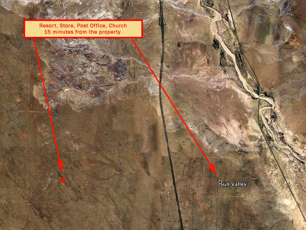 Gorgeous 2 Lots Sold as 1 on Rustic Desert Land - Image 5