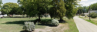 Charming Corner Lot in Suburban La Harpe Illinois