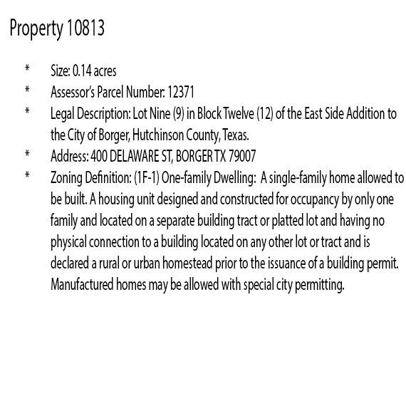 Beginner Pack of Three City Lots in Northern Texas - Image 10