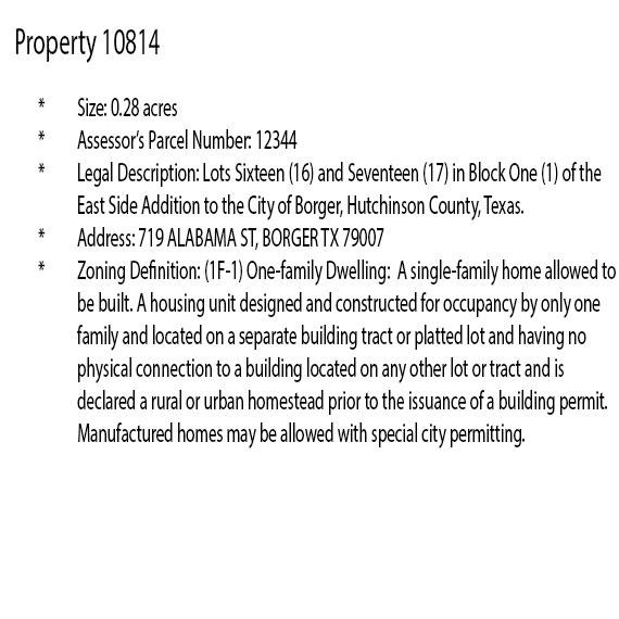 Beginner Pack of Three City Lots in Northern Texas - Image 11