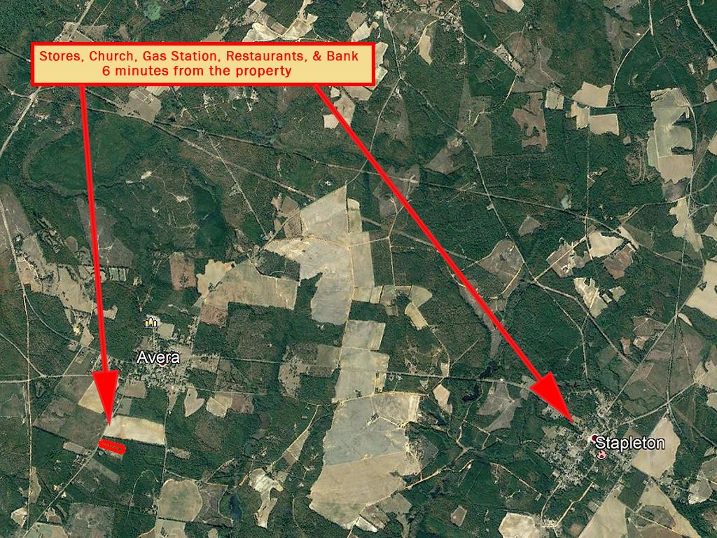6 Acres North of Louisville Georgia in Jefferson Pines - Image 5