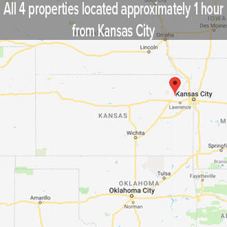 Kansas Four Lot Beginner Investor Pack Ideal for Vacation Rentals - Image 2
