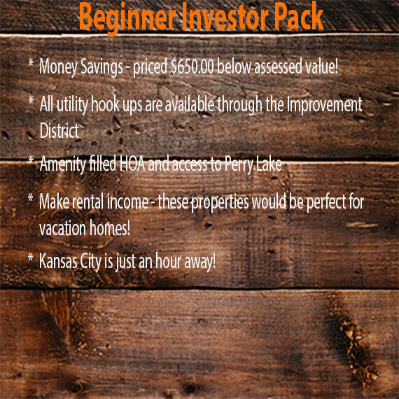 Kansas Four Lot Beginner Investor Pack Ideal for Vacation Rentals - Image 3