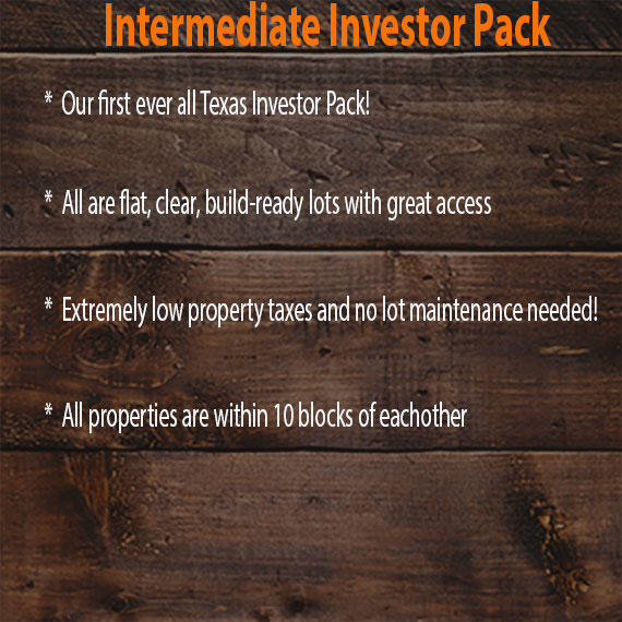 Texas Intermediate Investor Pack of Four City Lots - Image 11