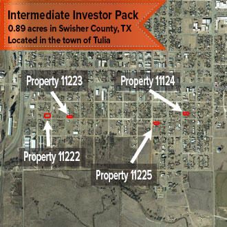 Texas Intermediate Investor Pack of Four City Lots - Image 1