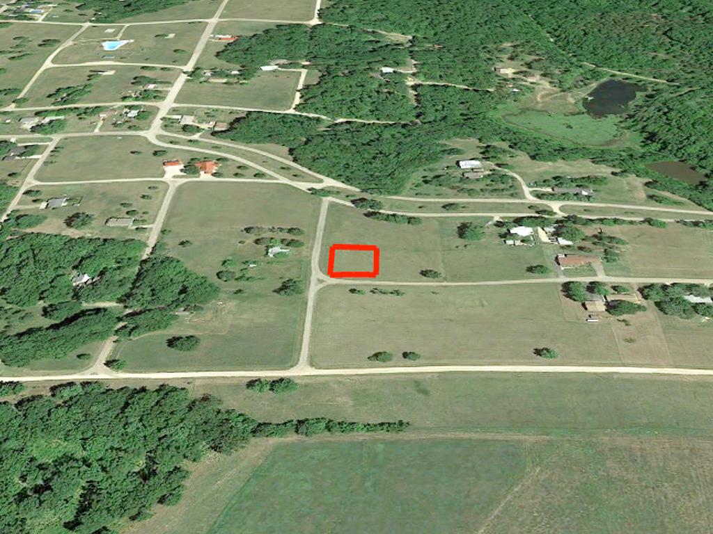 Flat & Cleared Lake Ozawkie Corner Homesite - Image 2
