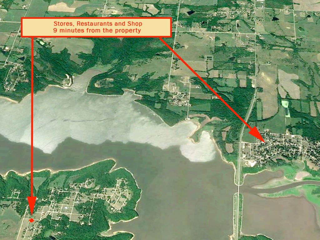 Flat & Cleared Lake Ozawkie Corner Homesite - Image 6