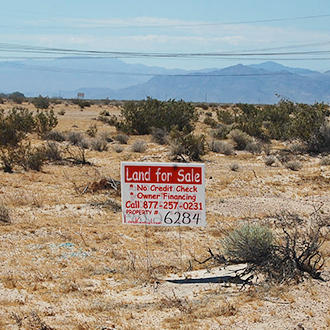 13.36 Acres of Land About 27 Miles Northeast of Barstow - Image 0