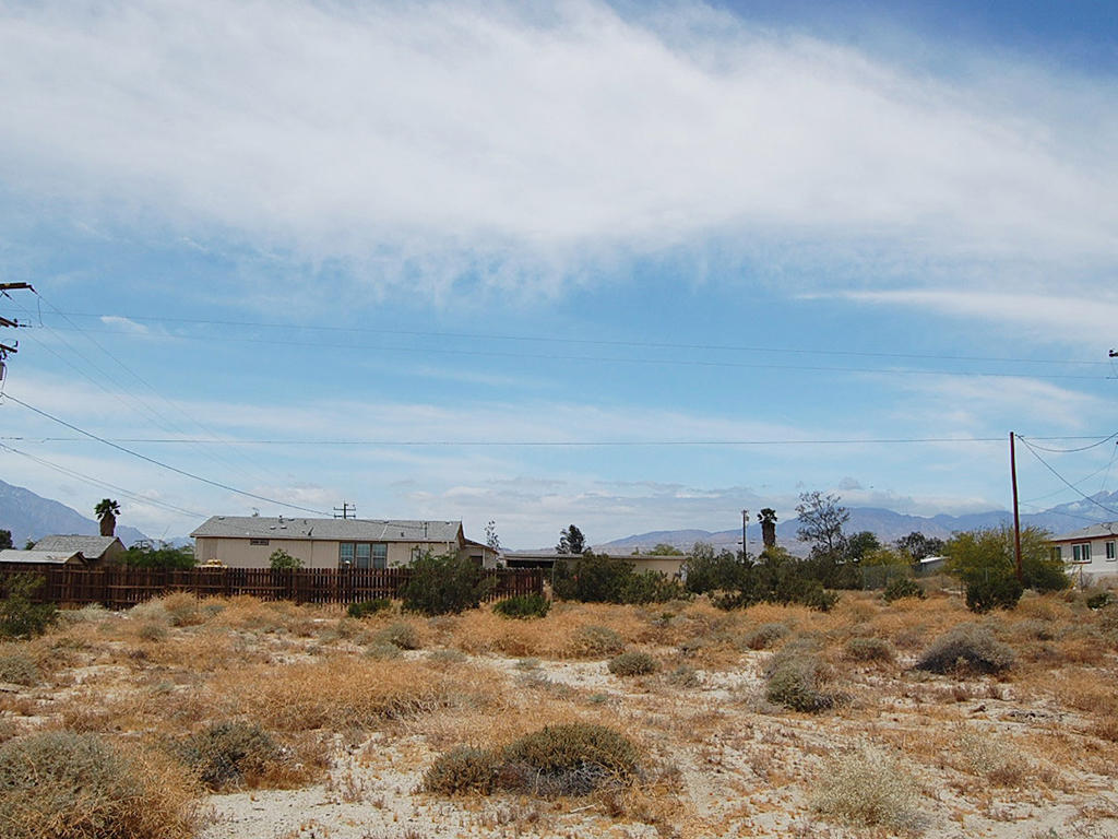 Flat Lot on Paved Road at the Edge of Desert Hot Springs, California - Image 3
